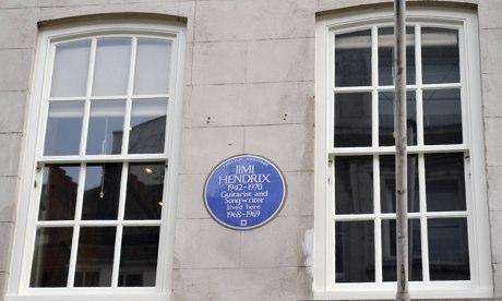 Jimi Hendrix's flat in Brook Street, London is now open to the public.