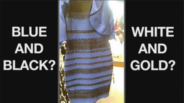 Is this dress white and gold, or a terrible waste of your time?